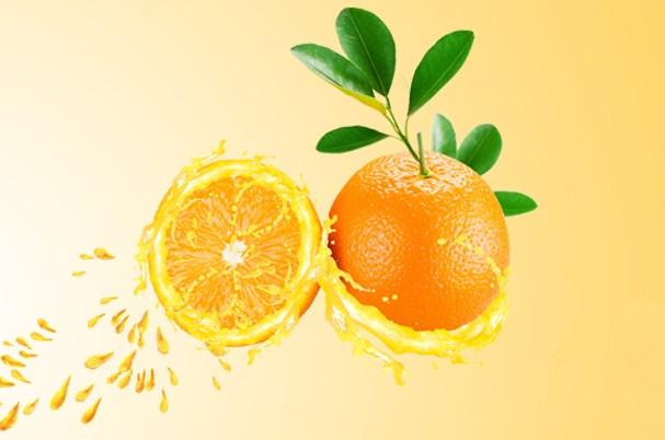 天使之橙鲜榨果汁