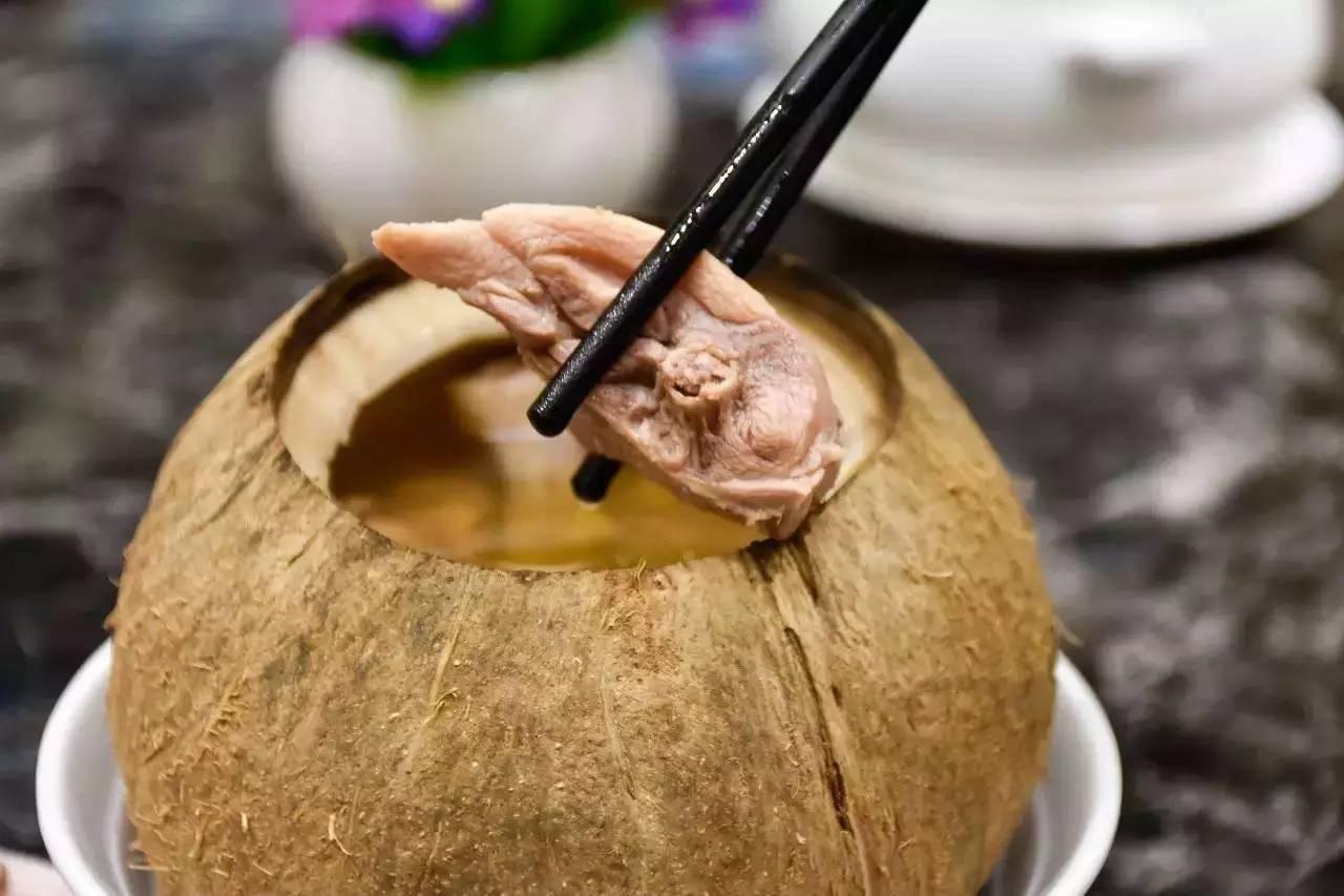 汤否椰子炖汤