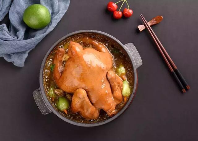 妙小鸡鲍汁焖鸡