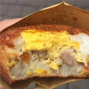 中式鸡蛋汉堡
