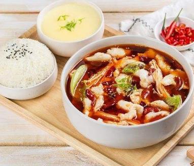 江上客酸菜鱼米饭