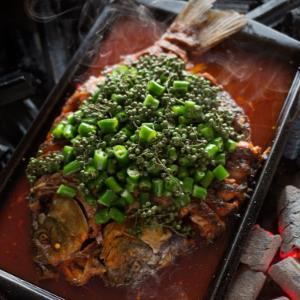 鲍鸡姆烤鱼