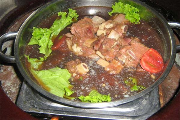 高丽王朝牛排酱汤火锅